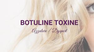 Botox oksels.